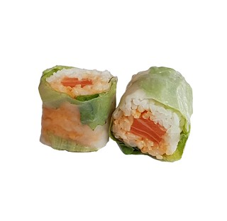 SPRING ROLL SAUMON SPICY 6pcs